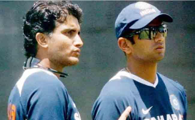 Sourav Ganguly Says God Help Indian Cricket After BCCI Notice To Rahul Dravid - Sakshi
