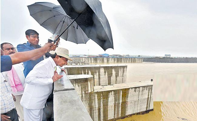 KCR Inspects Kaleshwaram Project And Also Visit Dharmapuri - Sakshi