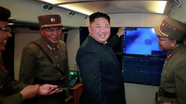Kim Says Launch Of Missiles A Warning To US And South Korea   - Sakshi