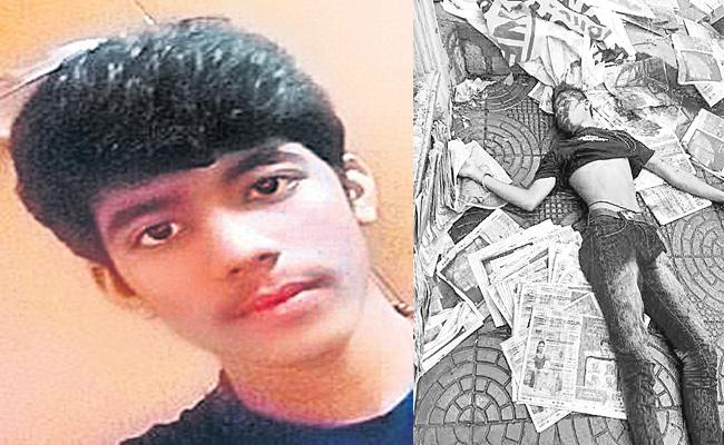 Paper Boy Died in Bike Accident in Hyderabad - Sakshi