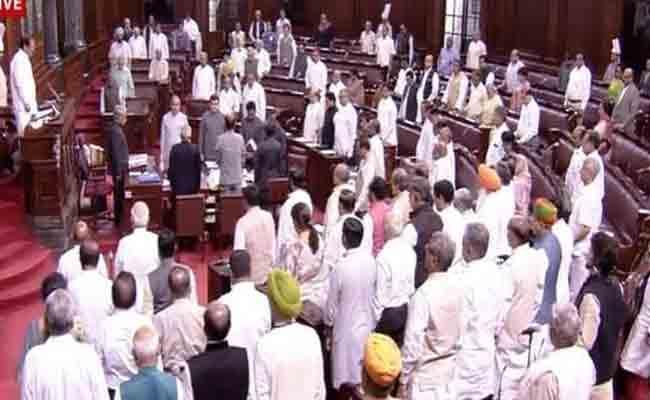 Rajya Sabha Pays Tribute To Sushma Swaraj - Sakshi