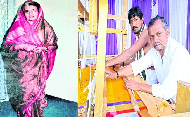 Hundred Years History Of  Narayanapeta Weaving Work In Mahabubnagar - Sakshi