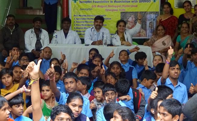 Doctor Anand Medical Camp For Orphans - Sakshi