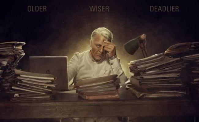 Kamal Haasan's Indian 2 to Release For 2021 Tamil New Year - Sakshi