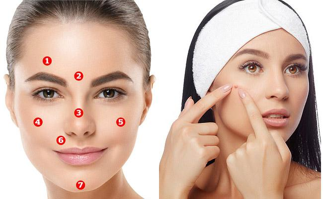 Face Mapping Reveals What Part Of Your Body Is Sick - Sakshi