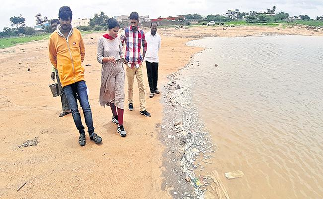 Fishes Dying Due To Polluted Water In Medak District  - Sakshi
