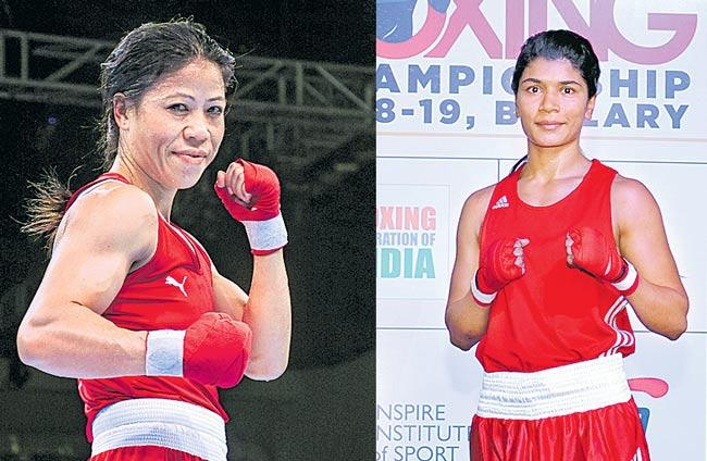 Boxer Nikhat shunted from World championship trials - Sakshi