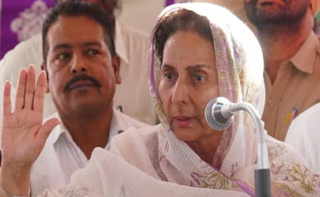 CM Amarinder Singh Wife Lost 23 Lakhs After Attend Phone Cal - Sakshi