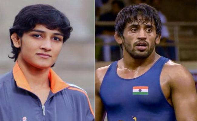 Bajrang Punia To Tie Knot With Sangeeta Phogat After Tokyo Olympics - Sakshi