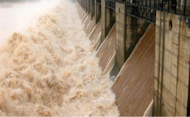 Tungabhadra River Water Inflow Increased At Kurnool - Sakshi