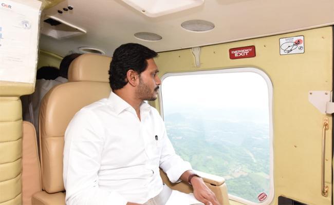 AP CM Jagan conducts aerial survey of flood-hit region in polavaram  - Sakshi
