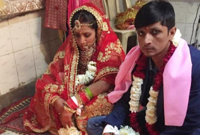 Gangster and Cop Get Married in Greater Noida - Sakshi
