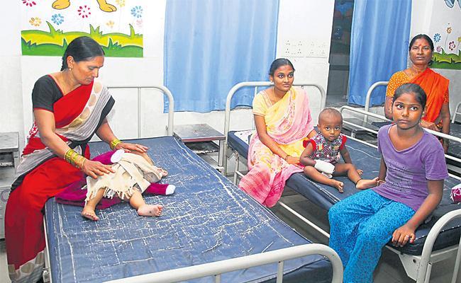 Fire Accident in Gandhi Hospital Hyderabad - Sakshi