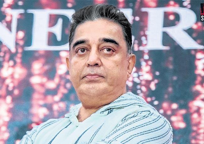Kamal Haasan is back as Senapathi - Sakshi