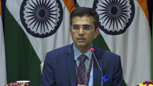 India Tells Pakistan Face Reality Stay Out of Our Internal Matters - Sakshi