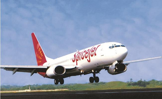 SpiceJet posts record profit as Jet Airways downfall provides boost - Sakshi