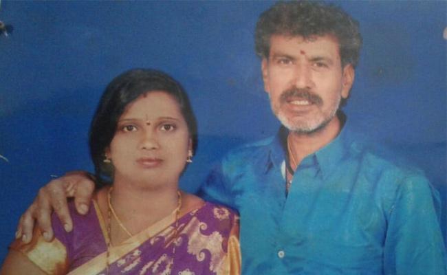 Husband Killed Wife in Karnataka - Sakshi