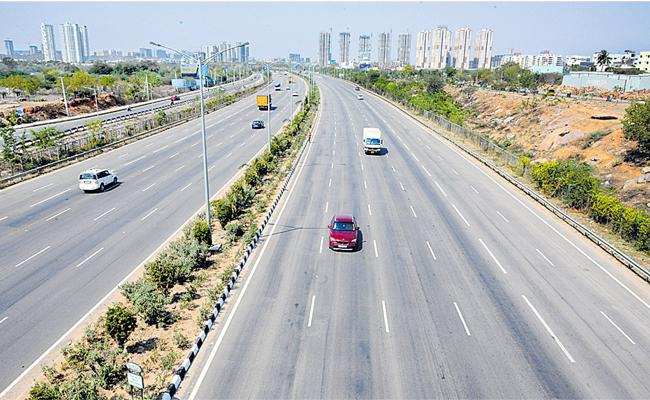 E-Challan Was Sending To Motorists Who Overspeeding The Vehicles In ORR - Sakshi