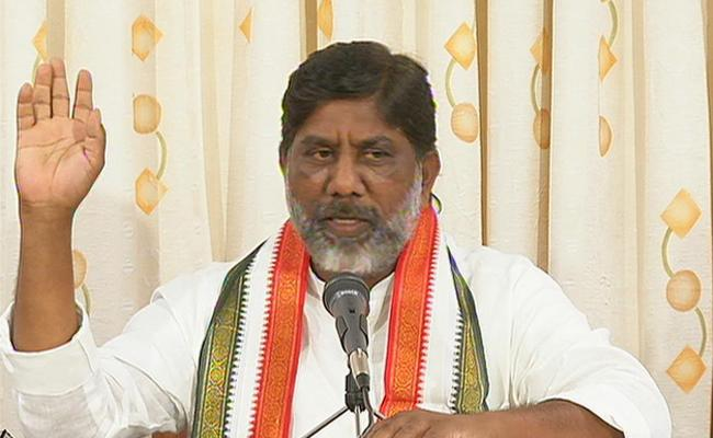 KCR Lies on Irrigation Projects: CLP Leader Mallu Bhatti Vikramarka - Sakshi
