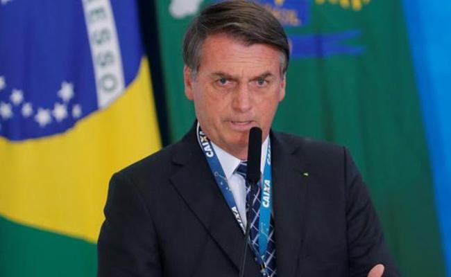 Brazil President Jair Bolsonaro Clarifies On Amazon Fire Stick - Sakshi