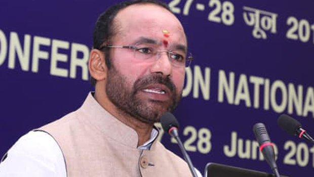 Kishan Reddy Says Article 370 scrapped Is a Historic Decision - Sakshi