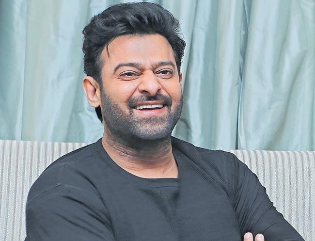 Prabhas reacts on lip-lock moments in Saaho movie - Sakshi