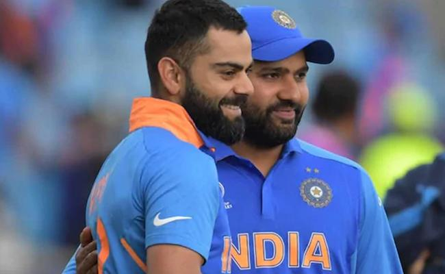 Kohli And Rohit Rift Rumours Absolute Nonsense Ravi Shastri - Sakshi