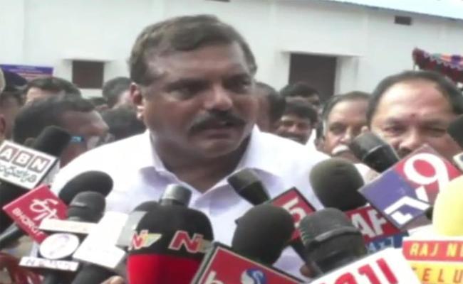 Minister Botsa Satyanarayana Speech At Vijayanagaram - Sakshi