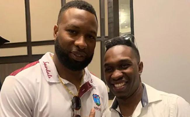 I Can Get Back In WI Colors Dwayne Bravo - Sakshi