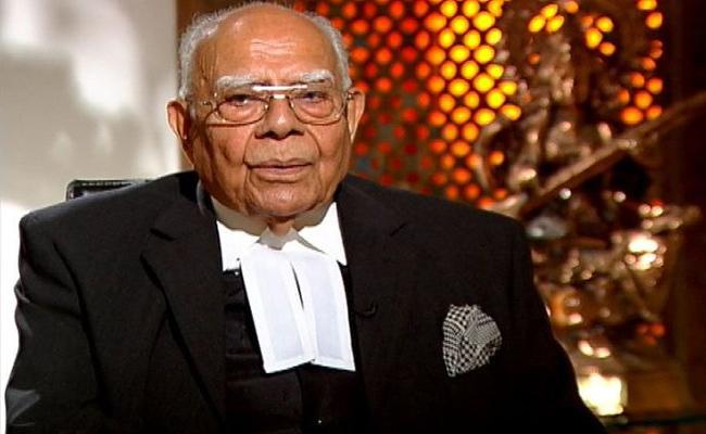 Editorial On Senior Advocate Former Union Minister Ram Jethmalani - Sakshi