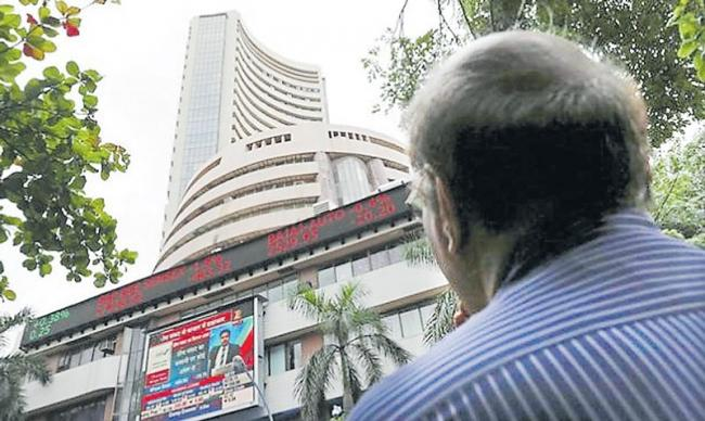 Sensex slips 180 points, Nifty below 10,900 amid sustained FII outflows - Sakshi