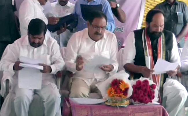 Uttam Comments On TRS Government Suryapet - Sakshi