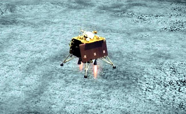 Vikram Lander has been located by the orbiter of Chandrayaan 2, Says ISRO - Sakshi