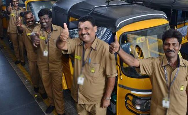 Online Rigistration 12th September For Rs 10 Thousand Financial Aid To Auto And Cab Drivers - Sakshi