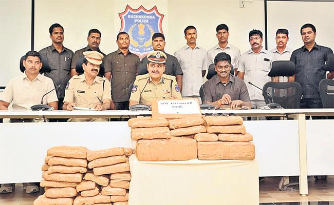 Inter State Gang Arrest in Marijuana Smuggling - Sakshi