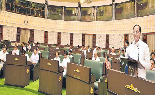 CM KCR Full Speech In Budget Session In Assembly - Sakshi