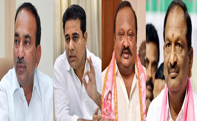 Four Krimnagar TRS MLAs Get Chance In Telangana Cabinet  - Sakshi