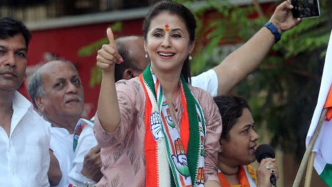 Urmila Matondkar Quits Congress Cites Lack Of Leadership - Sakshi