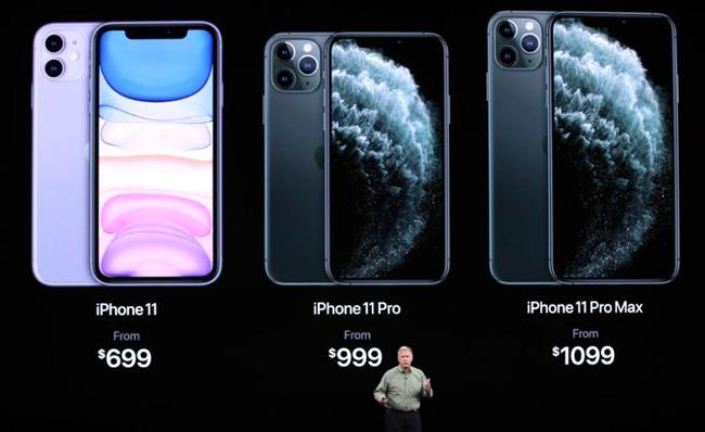 iPhone 11 Pro And 11 Pro Max launched with triple cameras - Sakshi