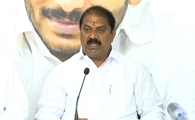 YSRCP Leader Malladi Vishnu Slams Chandrababu - Sakshi