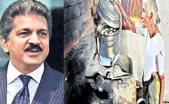 Anand Mahindra Wants To Invest In Tamilnadu Elderly Women Business - Sakshi