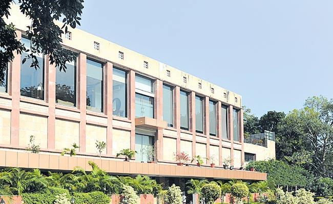 KCR lays foundation stone for new Secretariat building  - Sakshi