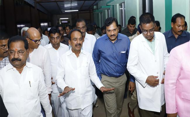Minister Etalal Rajender Visits Khammam District Talks About Agency Mediacal Services - Sakshi