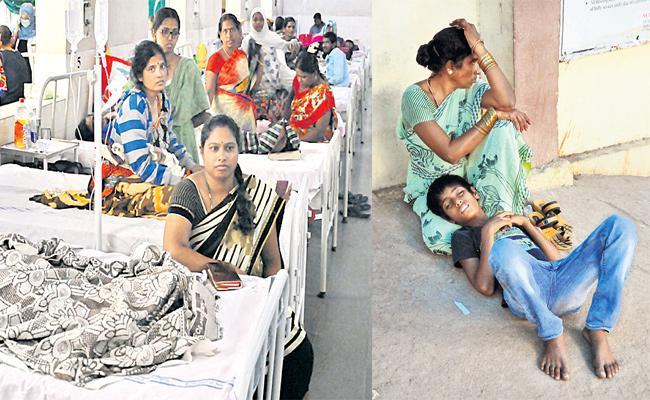 Staff Shortage in Fever Hospital Hyderabad - Sakshi
