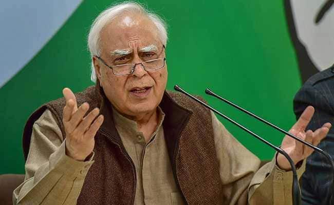 Kapil Sibal Slams On Speaker Om Birla In New Delhi - Sakshi