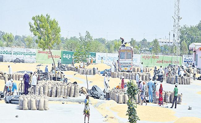 E Services Process Not Implemented In Agricultural Market Yards In Joint Medak District - Sakshi