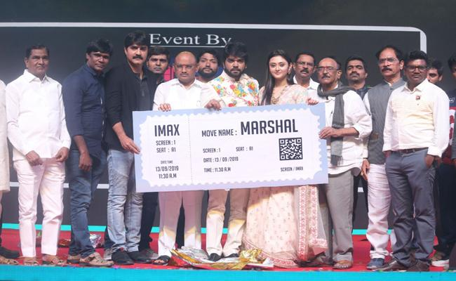 Marshal Movie Pre Release Event - Sakshi