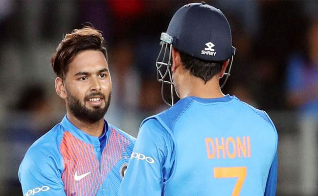 Rishabh Pant Comments About Comparisons With MS Dhoni - Sakshi