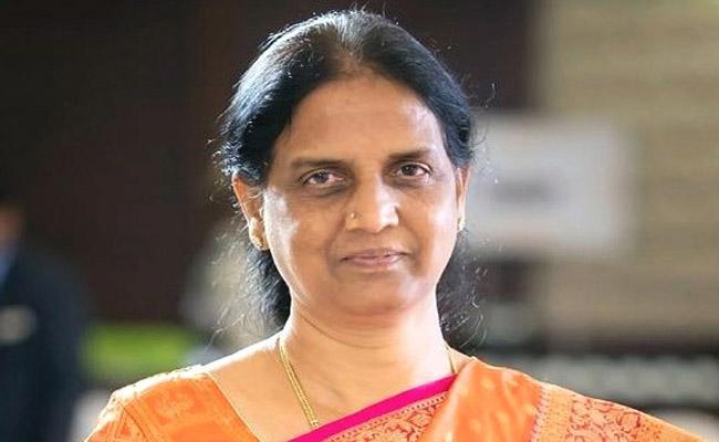 Sabita Indra Reddy Asks Donors To Adopt Govt Schools - Sakshi