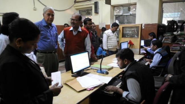 Department of Registration in the state is in dire straits due to shortage of staff - Sakshi